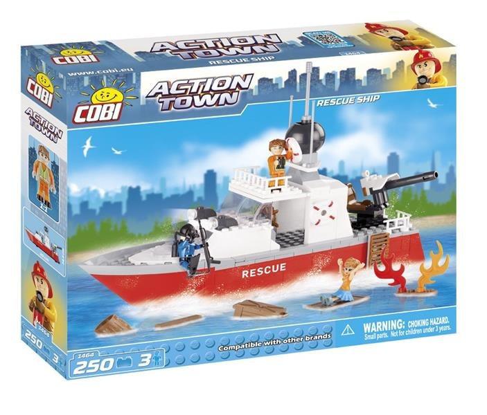 Конструктор Спасательный катер COBI серия Action Town (COBI-1464)