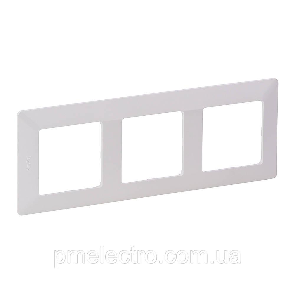 VLN-L Рамка 3 пости білий