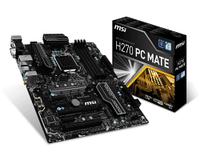 Чипсеты для процессоров Intel, MSI, H270, PC, MATE