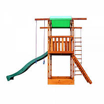 Игровой детский домик из дерева 001, фото 3