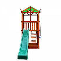 Игровой детский домик из дерева 001, фото 2