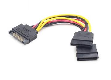 Переходник питания Cablexpert CC-SATAM2F-01 serial ATA на 2 устройств