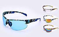 Очки спортивные Хаки (пластик, акрил, цвета в ассортименте)