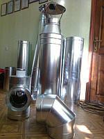 Производство дымоходов из нержавеющей стали. Гарантия качества.