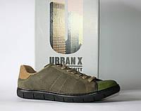 Мужские кроссовки сникеры UrbanX оригинал натуральная кожа 41