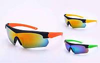 Очки спортивные солнцезащитные OAKLEY (пластик, акрил, цвета в ассортименте)