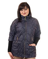 Куртка женская батал и полубатал демисезонная Леди