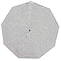 Зонт женский полный автомат 9 спиц ветрозащита.