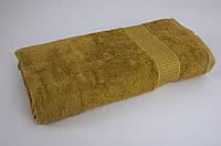 Махровое полотенце 70*140 TAC Mascon оливковое