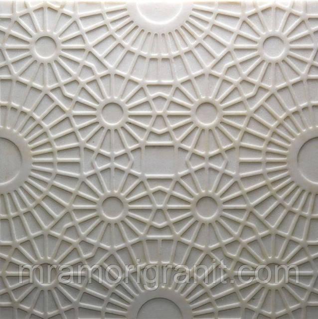 Вышивка и кружева на мраморе: инновационный вид отделки от итальянского дизайнера