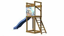 Деревянная площадка для детей SportBaby-2, фото 2