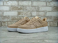 Женские кроссовки Nike Lab Air Force 1 Low Vachetta Tan