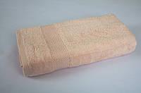 Махровое полотенце 70*140 TAC Mascon пудровое