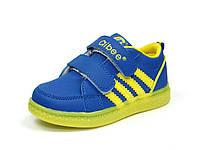 Детская спортивная обувь кроссовки для мальчика Clibee с мигалками