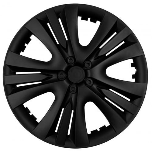 """Колпаки LUX 13"""" черные (гибкие)  - ВСЕ В АВТО - интернет-магазин электроники, запчастей и аксессуаров в авто в Кривом Роге"""