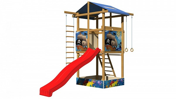 Площадка деревянная для детей SportBaby-7