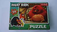 """Пазлы """"Angry Birds"""",54 ел,Enfant,155х110 мм.Детские пазлы, 54 елементов.Пазли мален. на 54 эл .Пазлы детские.П"""