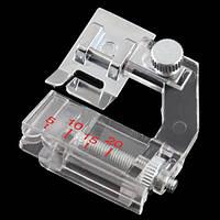 Окантователь с регулировкой для бытовых швейных машин