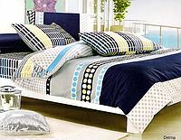 Комплект постельного белья евро Le Vele, Delma, сатин
