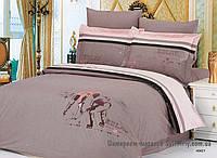 Комплект постельного белья евро Le Vele, Hokey, сатин