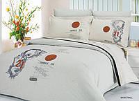 Комплект постельного белья евро Le Vele, Basketball, сатин