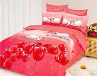 Комплект постельного белья евро Le Vele, Kugu, сатин, купить недорого!
