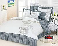 Комплект постельного белья евро Le Vele, Marisa, сатин вышивка