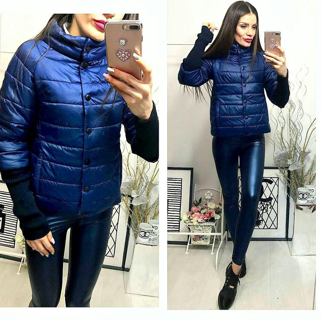 Куртка женская,  модель 205, синий