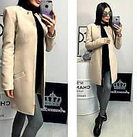 Пальто женское, модель  739/2,  молочный