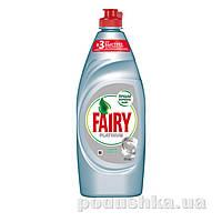 Средство для мытья посуды Fairy Platinum Ледяная свежесть 650мл 92325