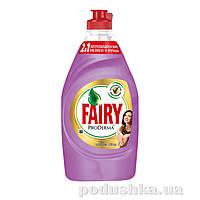 Средство для мытья посуды Fairy ProDerma Шелк и Орхидея 450мл 92509