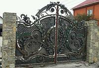 Ворота кованые (MS-VKR-011)