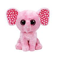 Мягкая игрушка TY Beanie Boo's Слоненок Sugar, 25 см 37089 ТМ: TY Inc