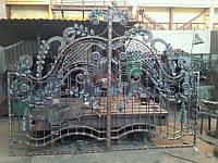 Ворота кованые (MD-VKR-013)