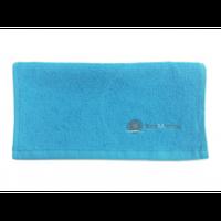 Салфетка 30*30 махровая (синяя) 100% катон
