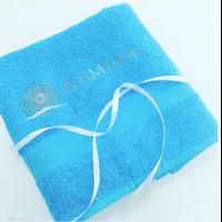 Полотенце махровое 50*90 (синее) 100% катон
