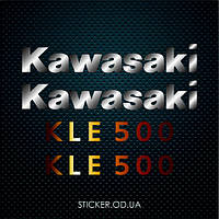 "Наклейки на мотоцикл эндуро ""KAWASAKI KLE 500"""