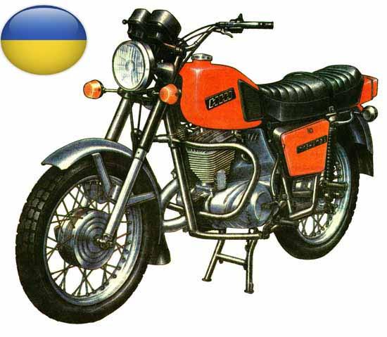 Запчастини на вітчизняні мотоцикли та мопеди
