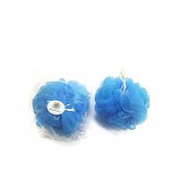 Мочалка ( бантик синий )