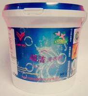 """Универсальный безфосфатный концентрированный стиральный порошок с цветочно-фруктовым """"Супер чистота""""-900 гр"""