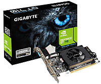 Видеокарта GF GT 710 1Gb DDR3 Gigabyte (GV-N710D3-1GL)