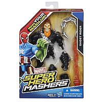Разборная фигурка супергероя Призрачный гонщик - Ghost Rider, Marvel, Mashers, Hasbro