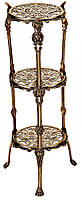 Столик 3 стільниці 30х71 см Stilars 372