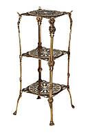 Столик 3 стільниці 32 * 71 см Stilars 374