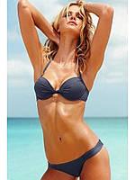 Купальник Чашка с Push-up Victoria's Secret 277-362-5, Цвет Серый, Размер 75E