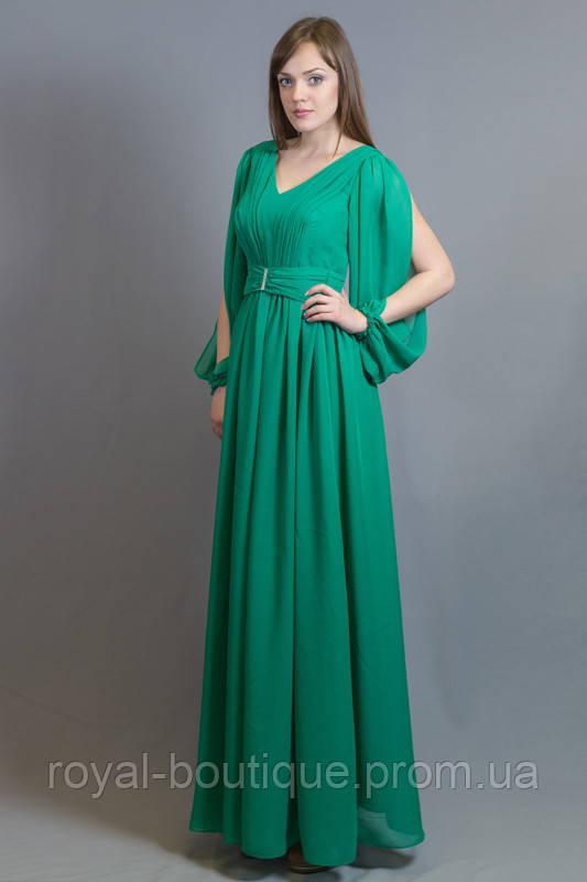 f521e426f2c Зеленое вечернее платье
