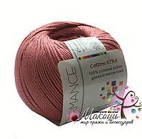Пряжа Cotton XTRA Коттон XTRA, 29, пыльная роза