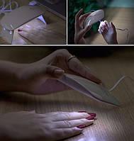 Лампа для ногтей SUNmini компактная УФ/UV для гель лака, диодная LED
