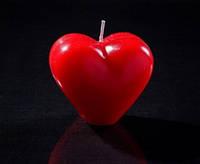 Свеча Сердце