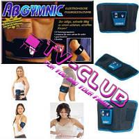 Миостимулятор пояс AbGymnic для накачивания мышц